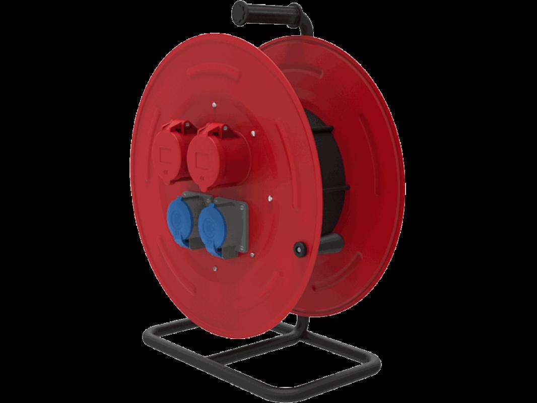 BM5 Удлинитель морозостойкий на металлической катушке электрический IP44 380В 32А 220В 32А