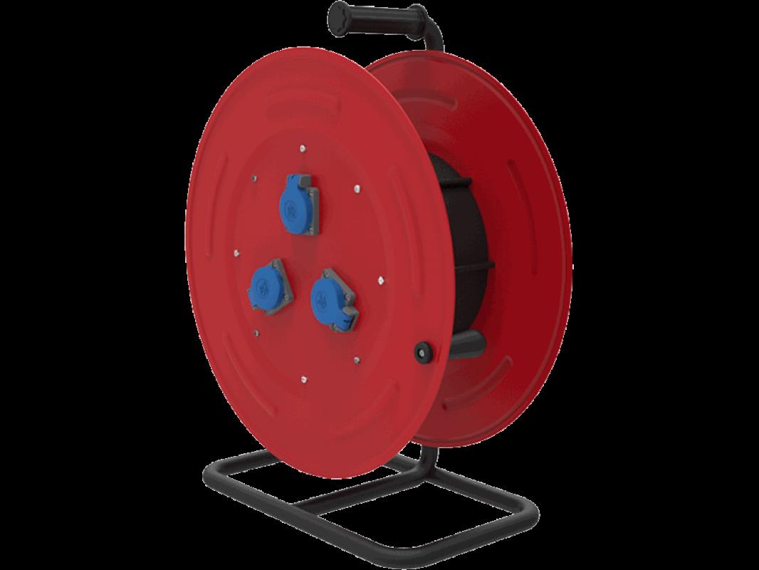 BM5 Удлинитель на катушке электрический IP44 220В 16А 70м - 110м