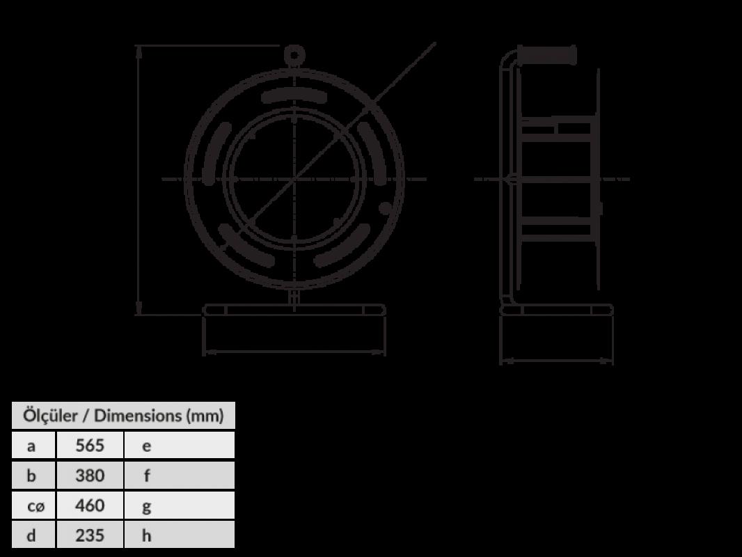 BM5 Удлинитель на металлической катушке электрический IP44 220В 16А 70м 80м 90м 100м 110м 120м