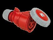 Розетка кабельная CEE 16А 400V 3P+N+E IP67 2152-6 PCE
