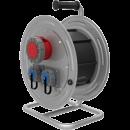 BM4 Удлинитель электрический на металлической катушке IP67 1х(380В 32А) 2х(220В 16А)