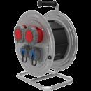 BM4 Удлинитель электрический на металлической катушке IP67 2х(380В 32А) 2х(220В 16А)