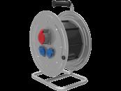 BM4 Удлинитель электрический на металлической катушке IP44 1x(380В 16А) 2x(220В 16А)