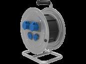 BM4 Удлинитель на металлической катушке морозостойкий электрический IP44 220В 2х32А 2х16А