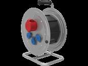 BM4 Удлинитель электрический на металлической катушке IP44 1х(380В 32А) 3х(220В 16А)