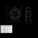 BM4 Удлинитель электрический на металлической катушке IP44 1х(CEE 380В 32А) 2х(220В 16А)