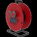 BM5 Удлинитель электрический на металлической катушке IP67 2х(380В 32А) 2х(220В 16А)