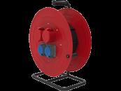 BM5 Удлинитель морозостойкий на металлической катушке IP44 2x(380В 32А) 2x(220В 32А)
