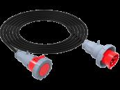 SU Удлинитель силовой электрический влагозащищенный IP67 380В 32А смотка